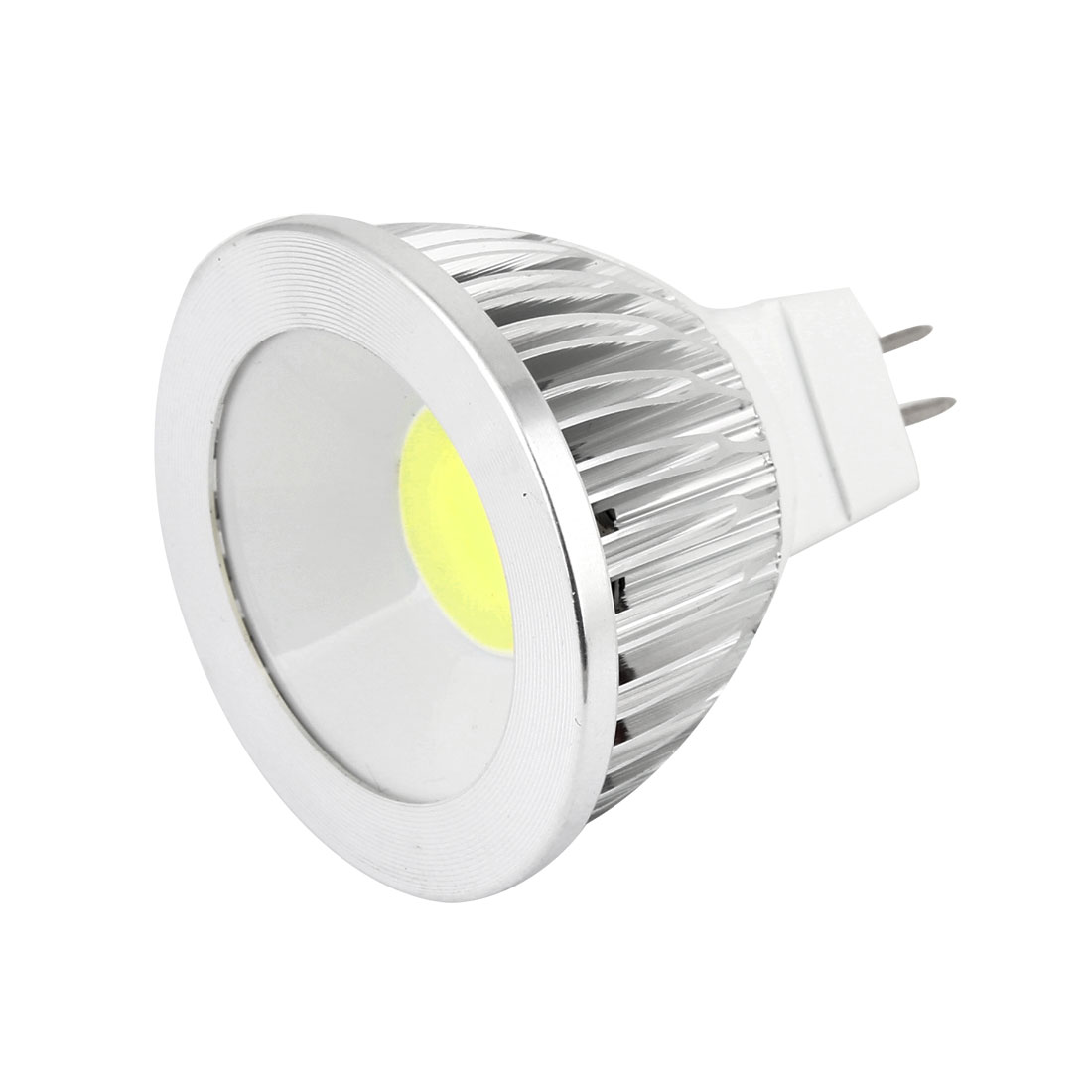 AC 12V 6W MR16 Non-dimmable Cool White Light COB LED Downlight Spotlight Bulb