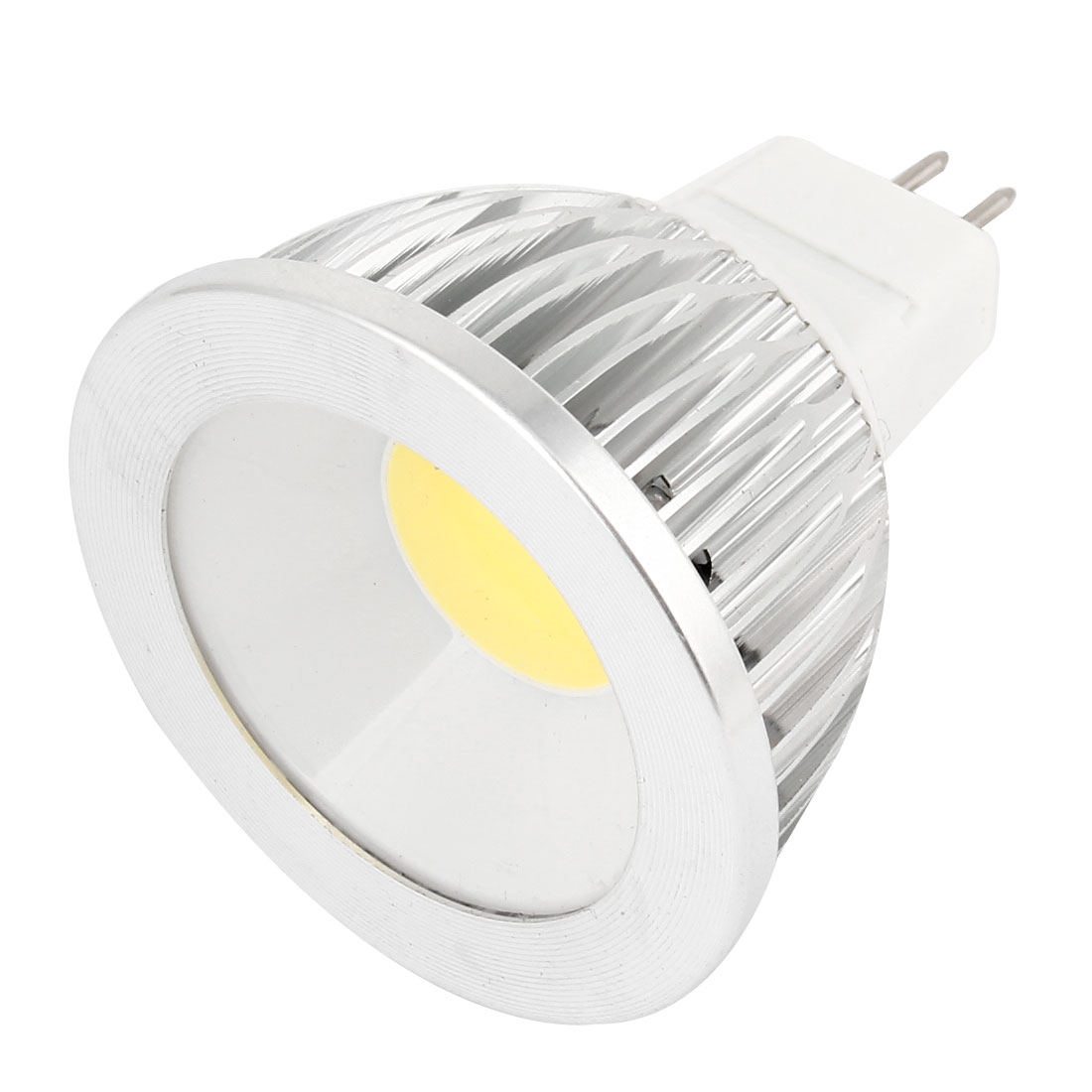 AC 12V 6W MR16 Dimmable White Light COB LED Downlight Spotlight Bulb