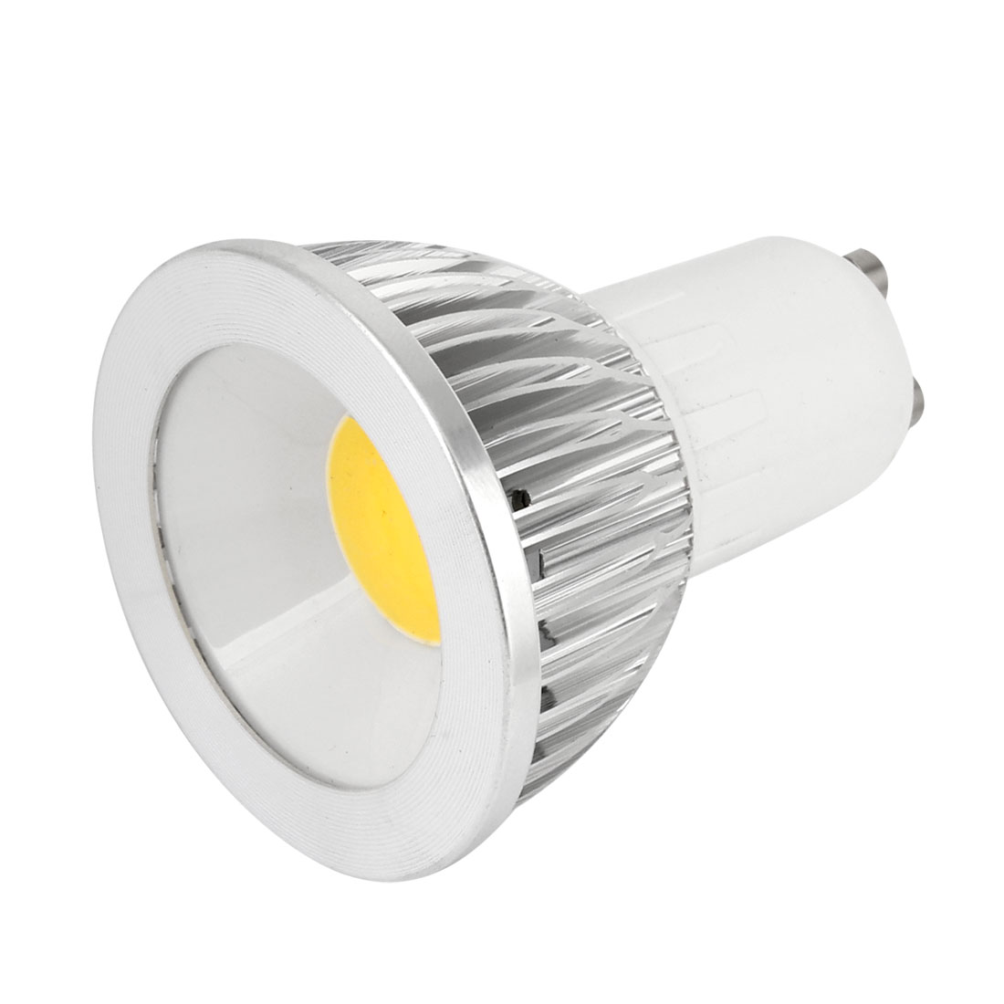 AC 85-265V 6W 360-390LM GU10 Warm White Light COB LED Downlight Lamp Bulb