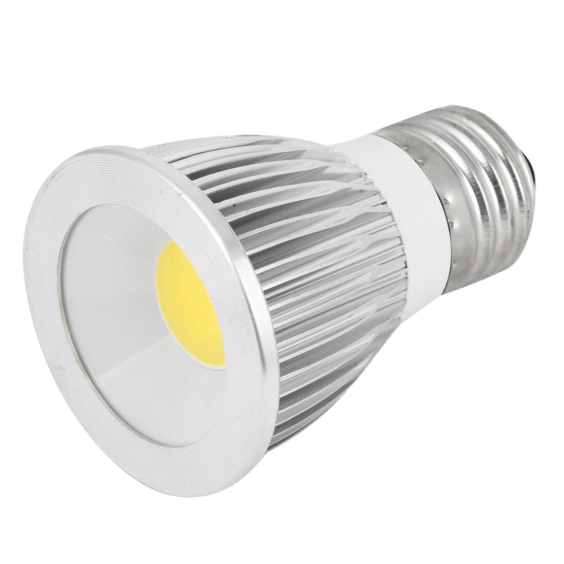 AC 85-265V 9W E27 Non-dimmable White Light COB LED Downlight Spotlight Lamp Bulb