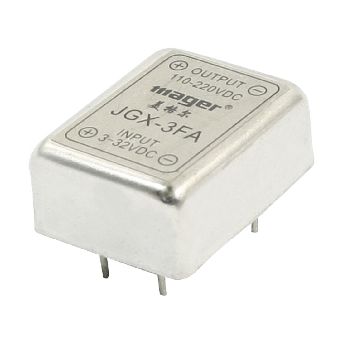 JGX-3FA DC 3-32V to 110-220V PCB Through Hole Mount Solid State Relay