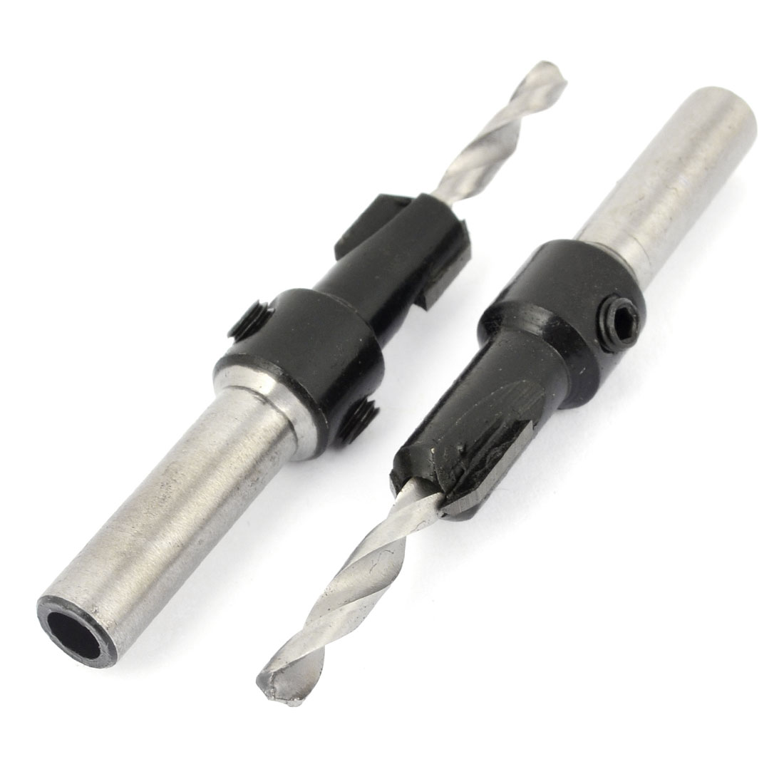 "2pcs 8mm Dia Shank Woodworking 4mmx10mm Countersink Drill Bit 3.1"" Long"