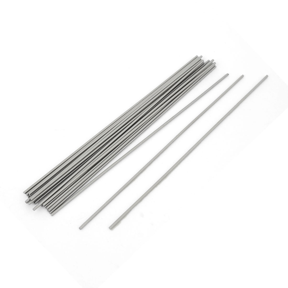 50Pcs High Speed Steel Round Turning Lathe Carbide Bars 1mm x 100mm