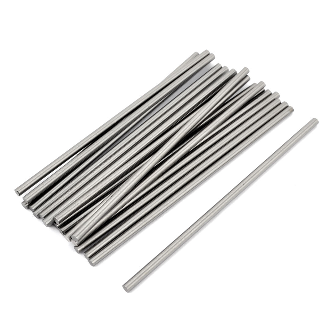 20pcs High Speed Steel Round Turning Lathe Carbide Bars 3mm x 100mm