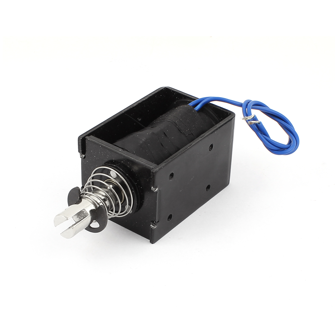 10mm Stroke 80N 8Kg Holding Force Push Pull Type Solenoid Electromagnet DC 24V 0.55A