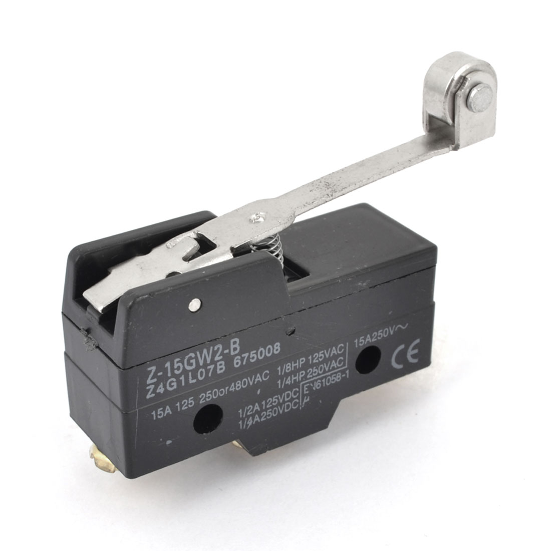 Z-15GW2-B Normally Open/Close Parallel SPDT Momentary Roller Lever Basic Micro Limit Switch Micorswitch
