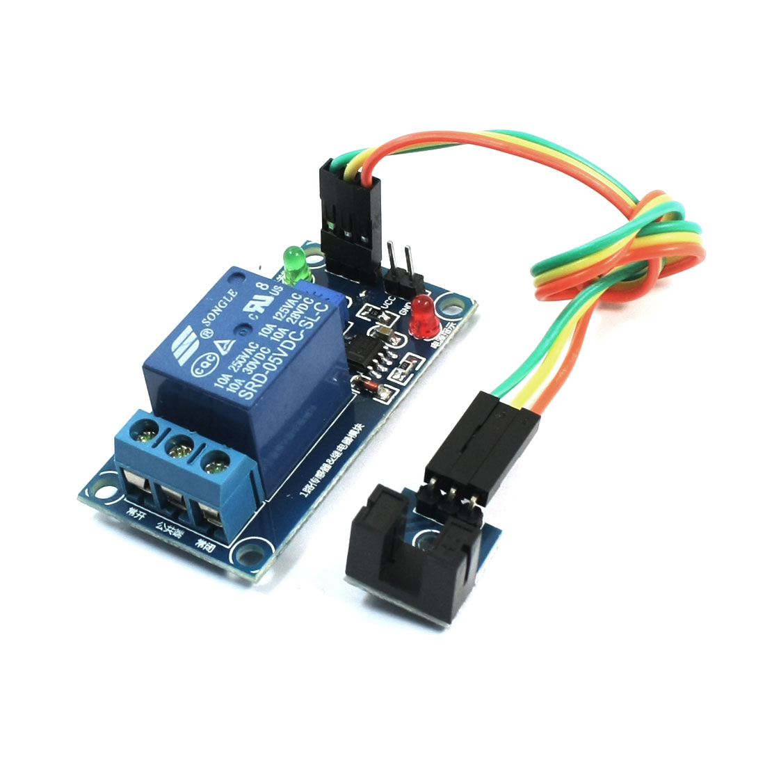 Groove Optocoupler Sensor Measurement 1-Channel Power Relay Module