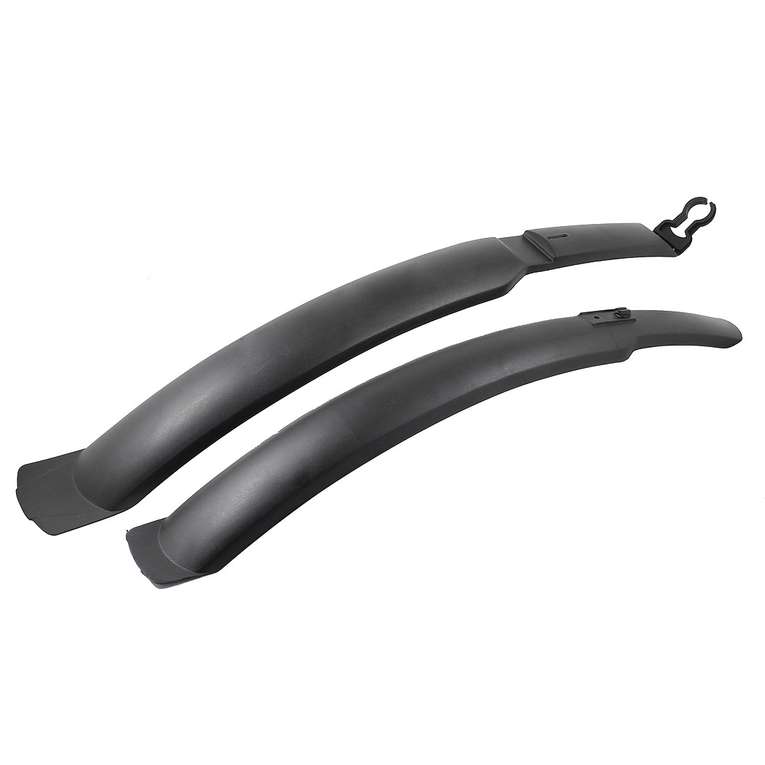 Spare Part Plastic Quick Release Bike Bicycle MTB Front Rear Fender Mudguard Set Black