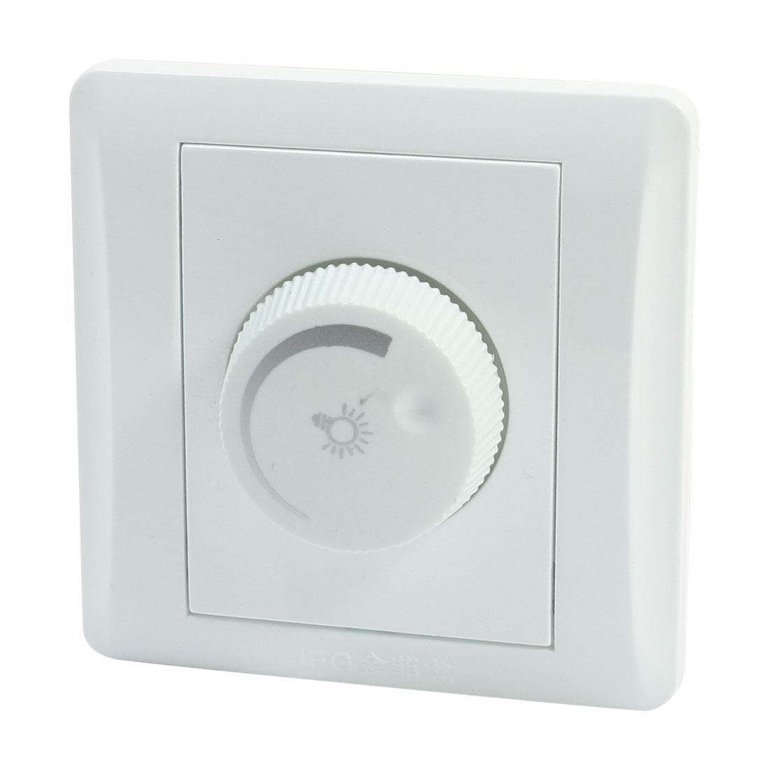 Rotary Switch Single Pole Light Intensity Control White Light Dimmer Switch AC 150-250V
