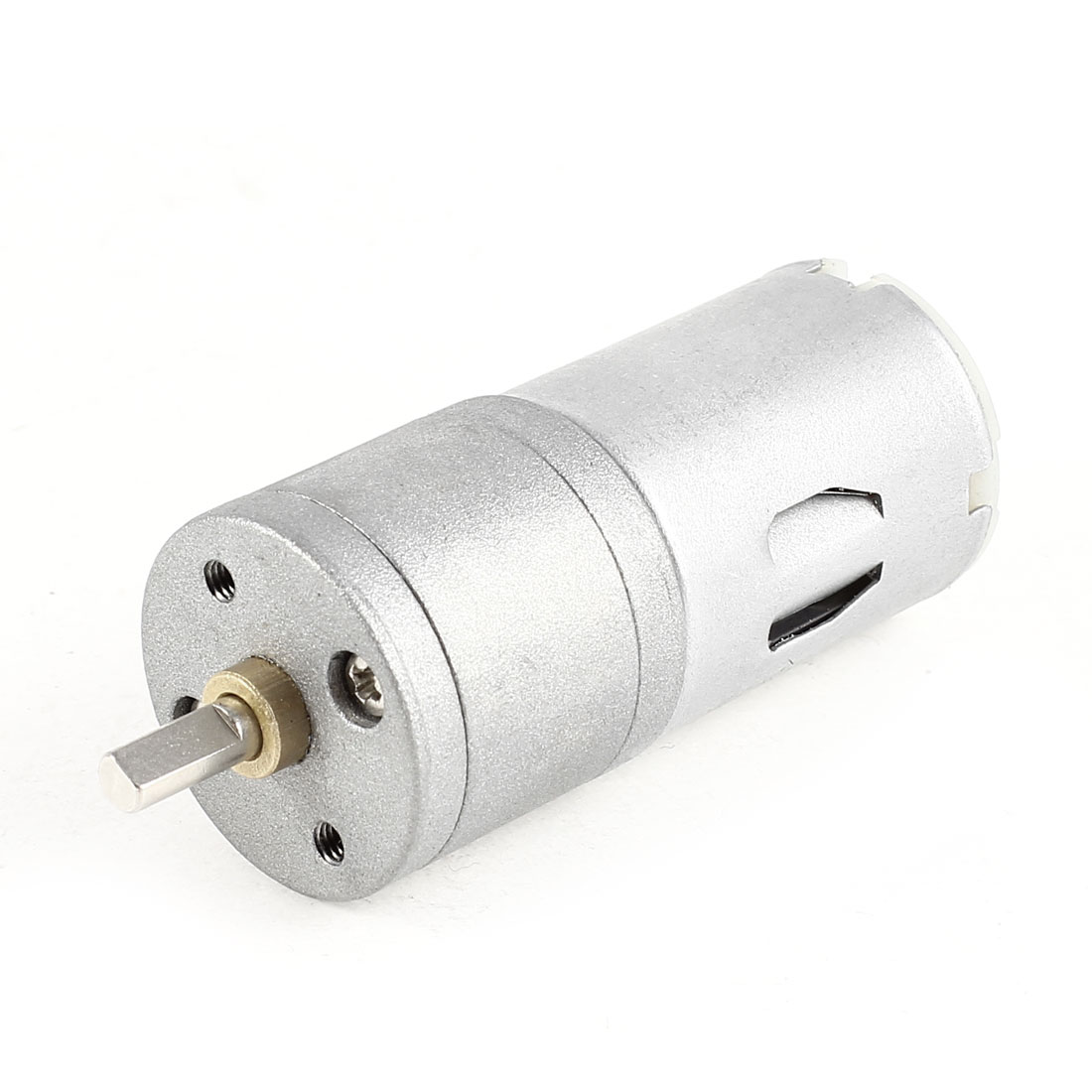 4mm Round Shaft Cylinder Gear Box Powerful Motor 250RPM DC 12V