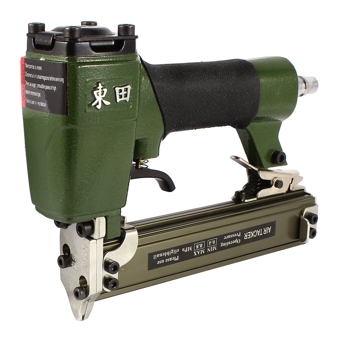 P625 Air Nailer Gun Pneumatic Stapler Power Tools w Piston Driver Kit