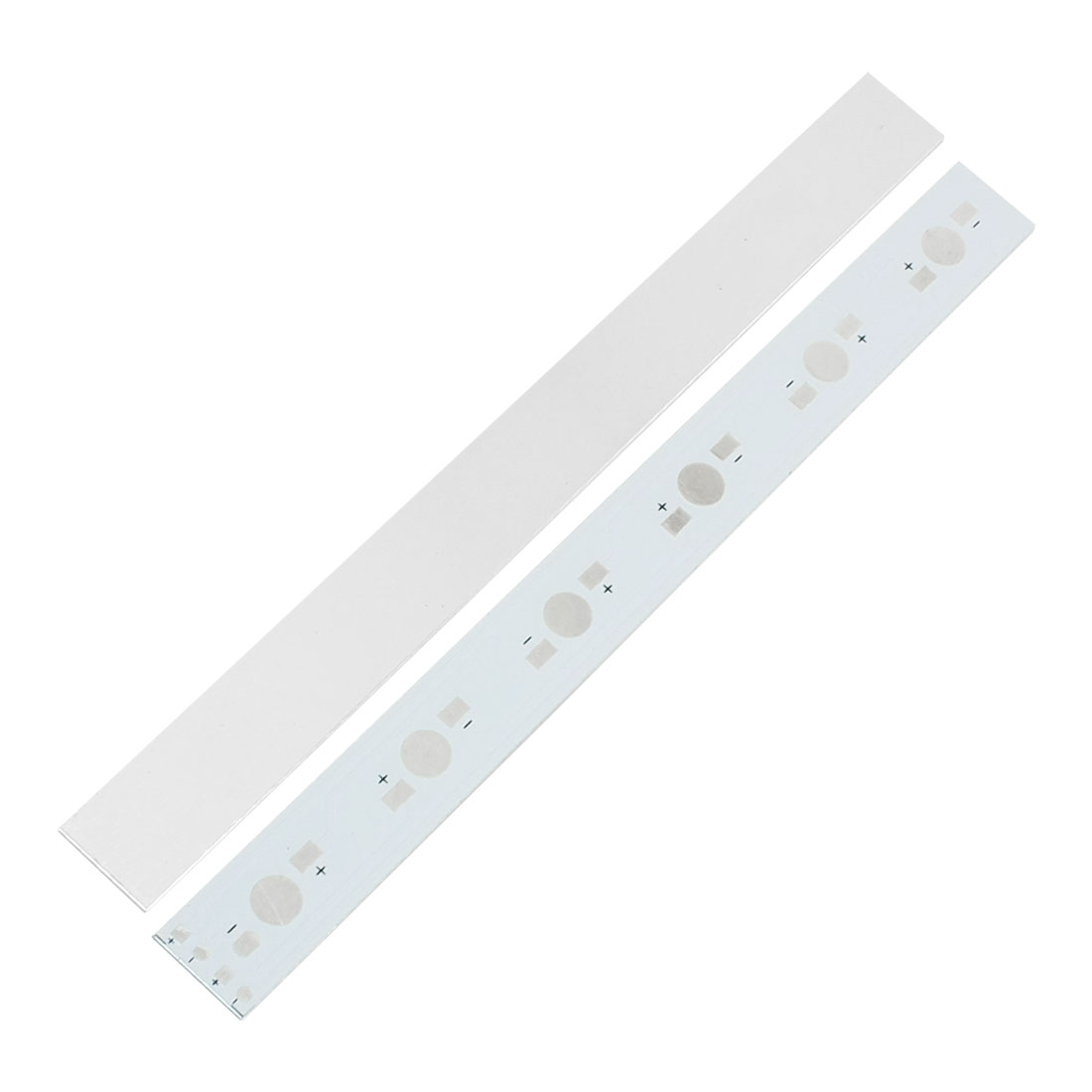 2Pcs 160x15mm DIY Aluminum PCB Circuit Board for 6 x 1W/3W/5W Power LED
