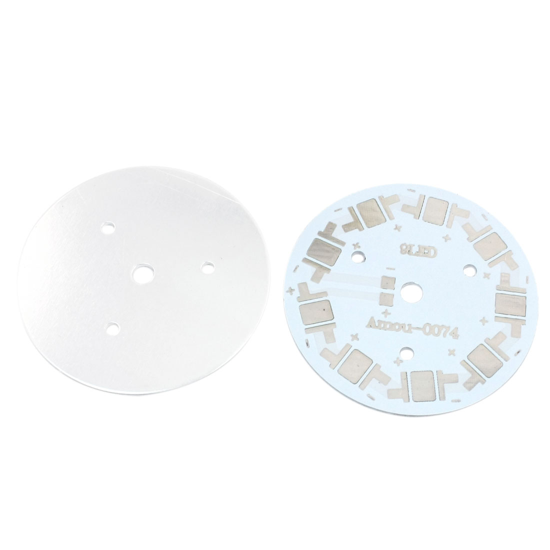 2pcs 60mm 9 x 1W 3W 5W LED Aluminum PCB Printed Circuit Board