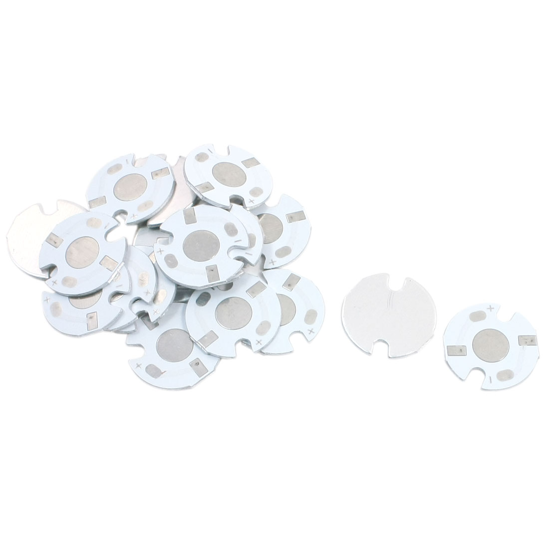 20Pcs 16mm Dia Circle LED Aluminum PCB Circuit Board for 1 x 1W/3W/5W