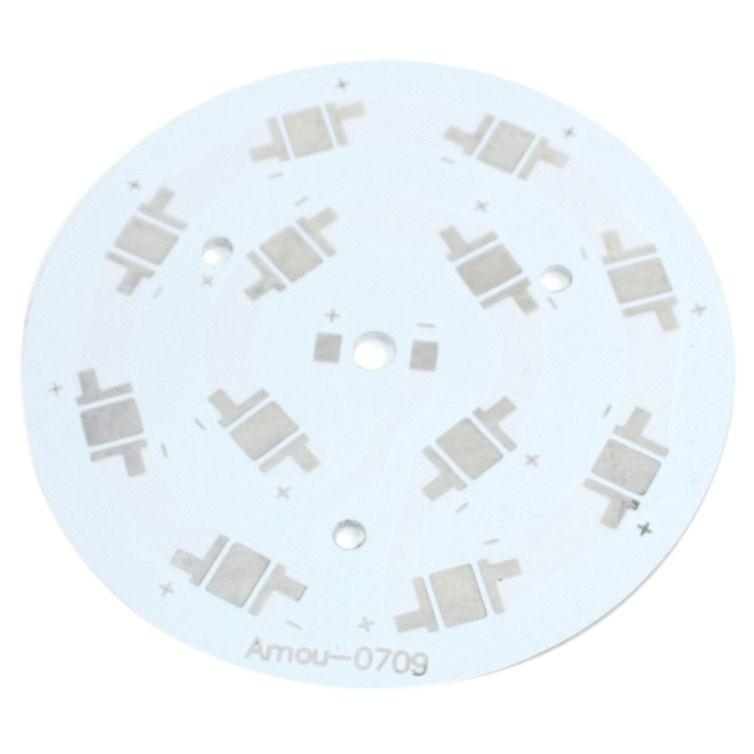 Aluminum Base Plate DIY PCB 90mm Dia for 12 x 1W 3W 5W High Power LED