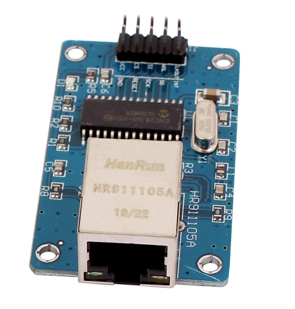 ENC28J60 SPI Interface Ethernet LAN Network Module AVR ARM PIC