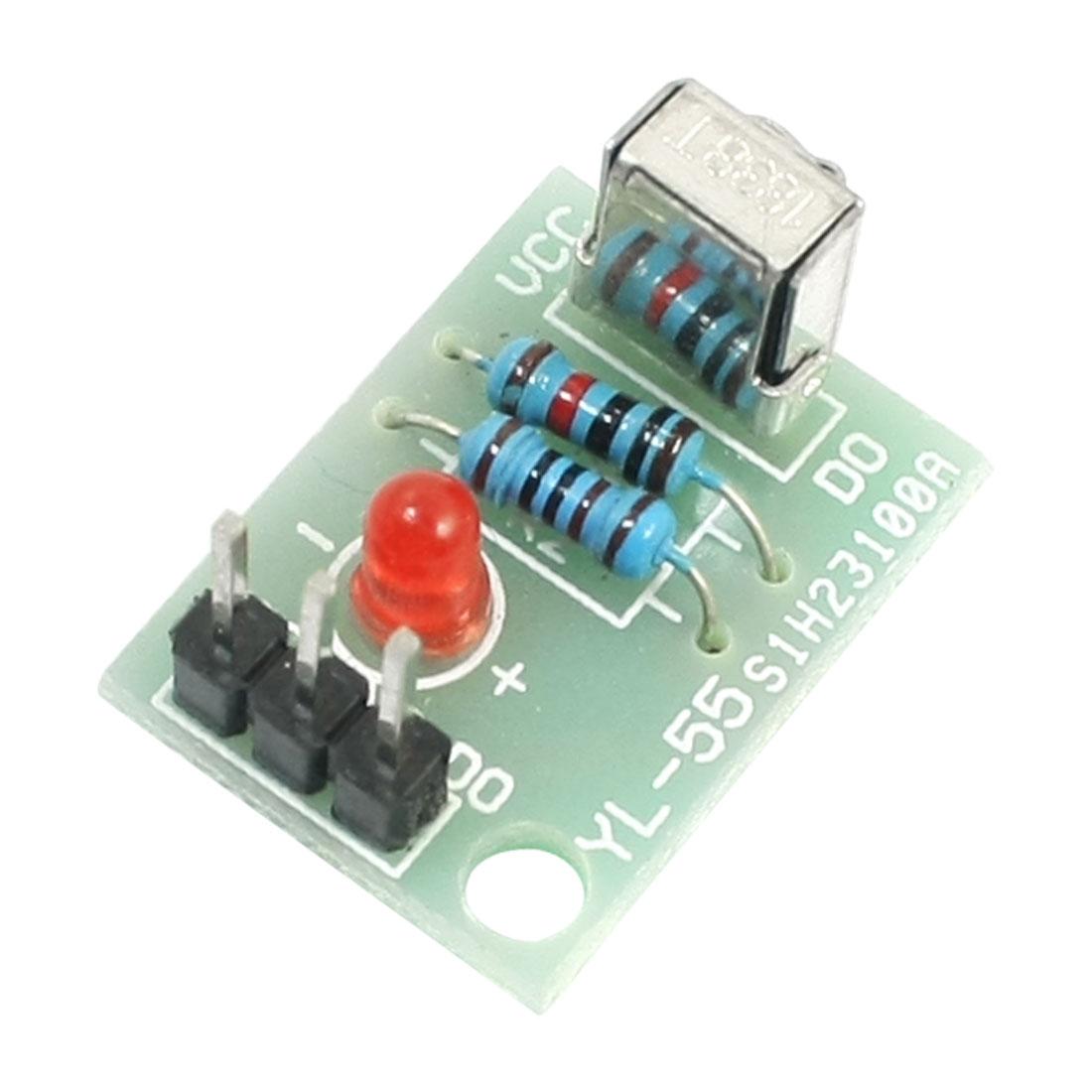 HX1838 IR Remote Control Receiver Module 5V Green