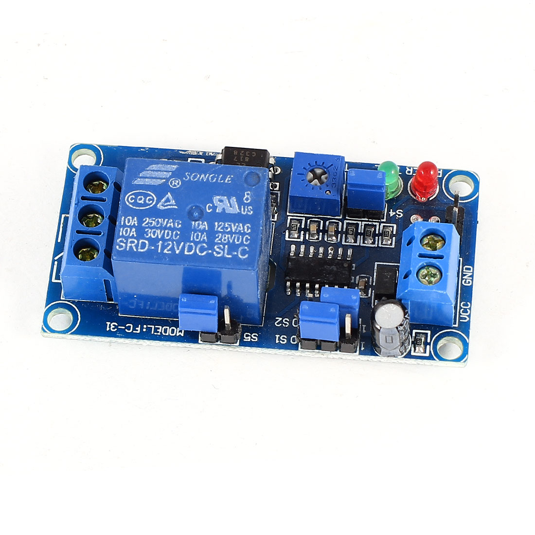 DC12V 1 Channel Isolated Relay Module Coupling PIC AVR DSP ARM