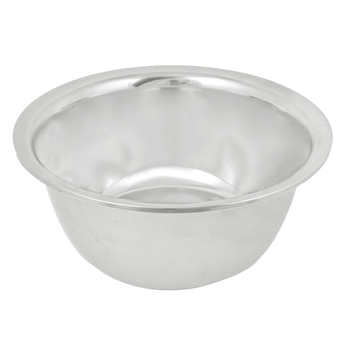 "Household Multifunction Round Stainless Steel 5.9"" Bottom Diameter Dinner Bowl Storage Basin"