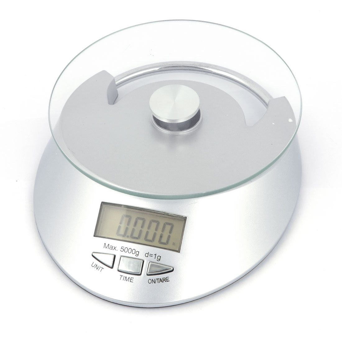 3Kg x 1g Kitchen Digital Electronic Weight Scale Kg oz lb g Silver Tone