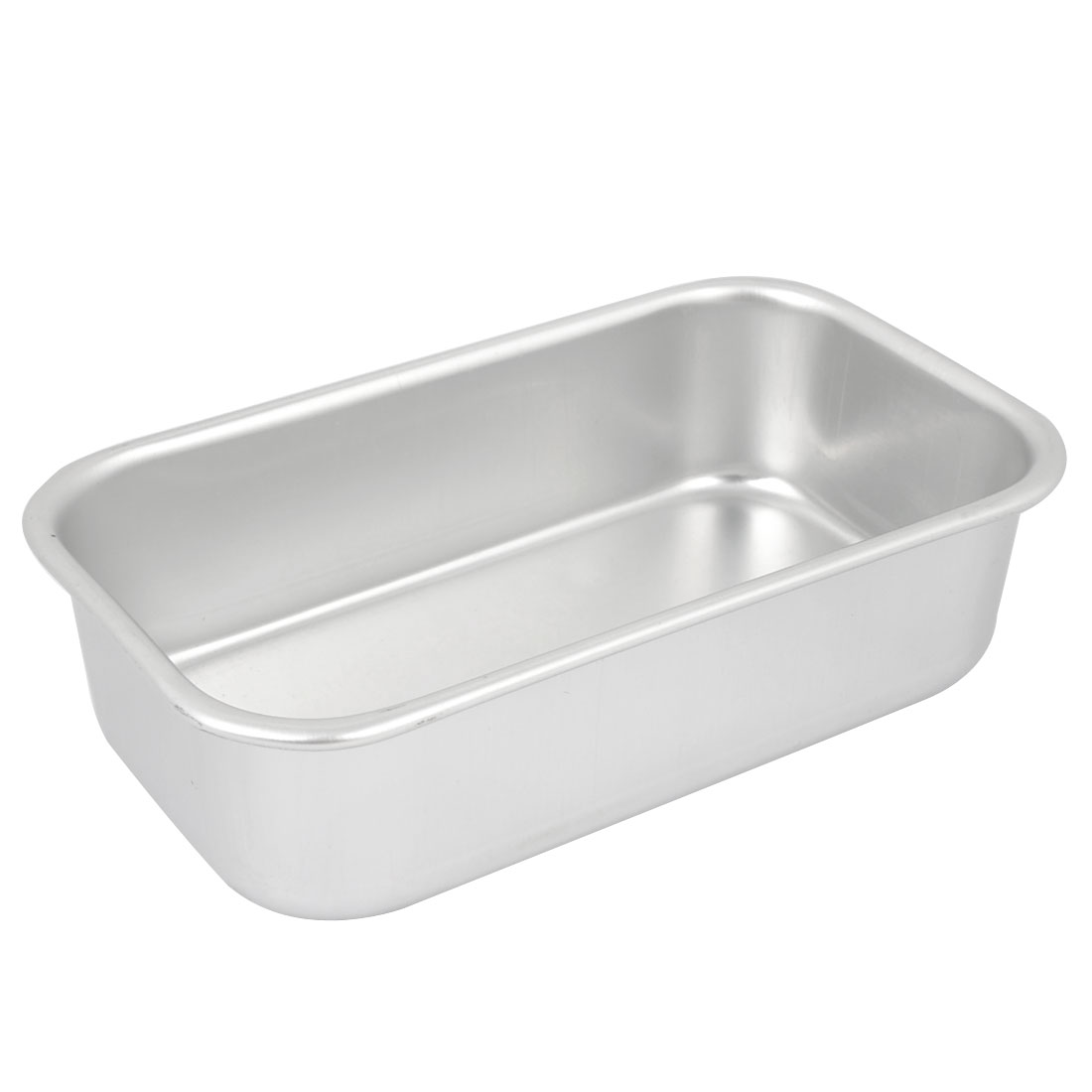 "Baking Rectangle Aluminium Alloy Bottom Cake Mold Mould Pot 4.3""x2.4""x1.2"""