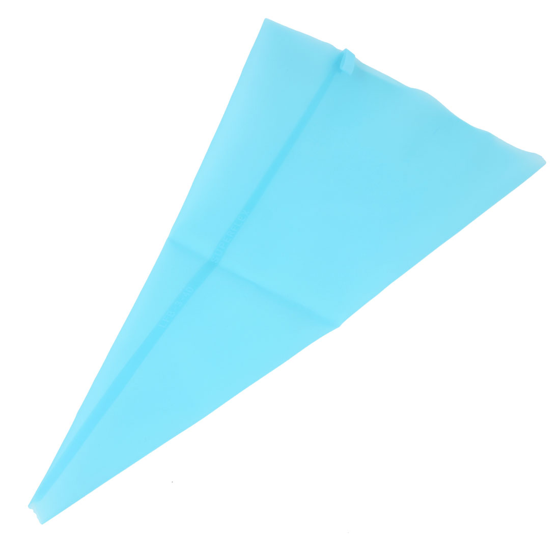 31cm Length Blue Silicone Pastry Piping Bag for Cake Bread Toast Making