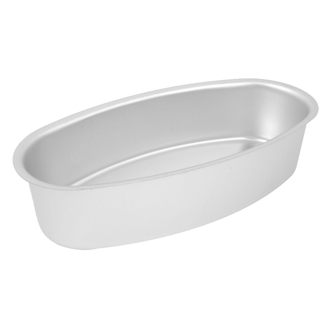 "Baking Oval Aluminum Alloy Bottom Cake Mold Mould Pot 8.7""x4""x2"""