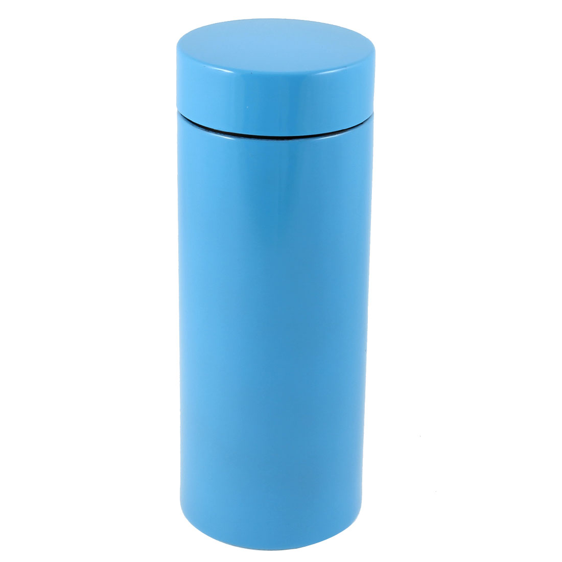 Travel 265ml Capacity Stainless Steel Vacuum Flask Water Bottle Cup Blue