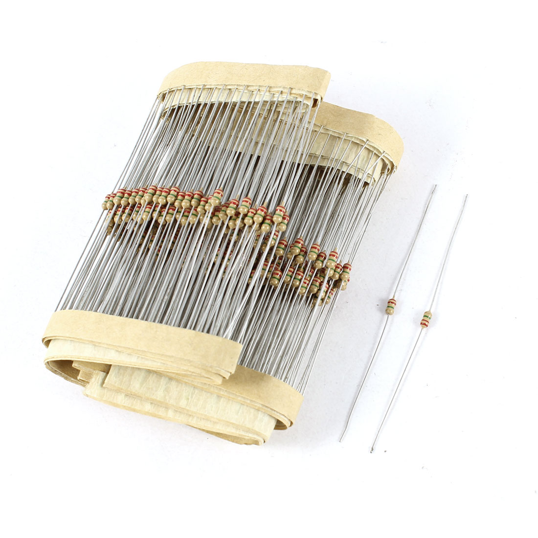 300 Pcs Axial Lead Through Hole 1/6W 1/8W 1% 2.2M Ohm Carbon Film Resistors