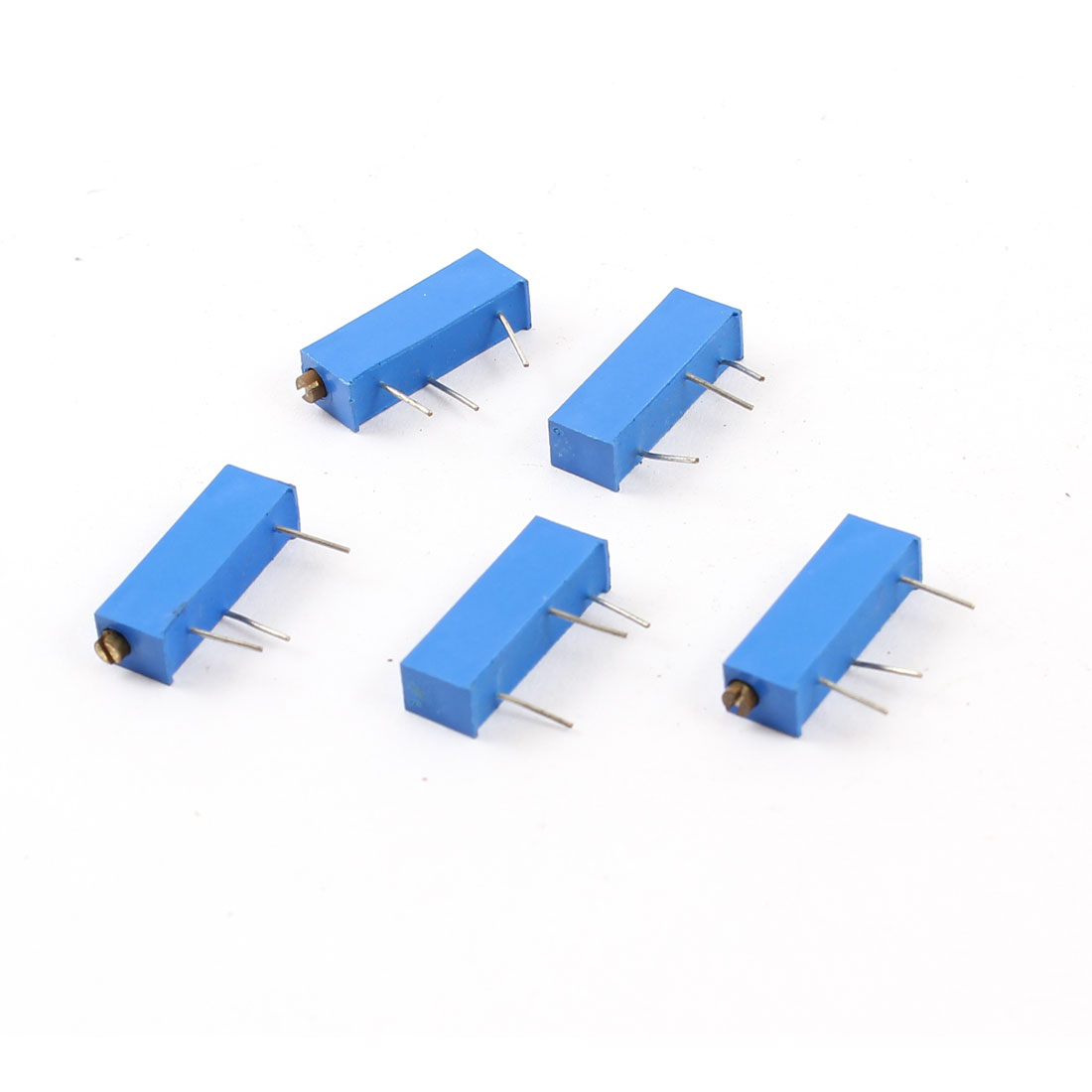 5pcs 100K Ohm Rectangle Cermet Triming Pot Trim Potentiometer Rheostat