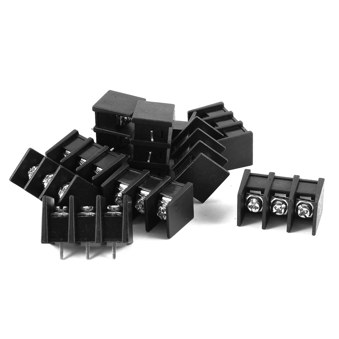 10 Pcs KF35C-3P 3 Position 8.25mm Pitch Wire Connector Screw Terminal Barrier Blocks 300V 20A