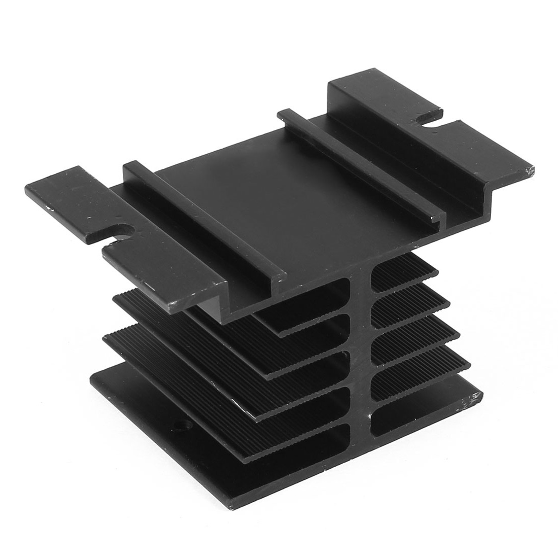 Aluminium Heat Dissipation Heatsink Cooling Fin Black for Solid State Relay