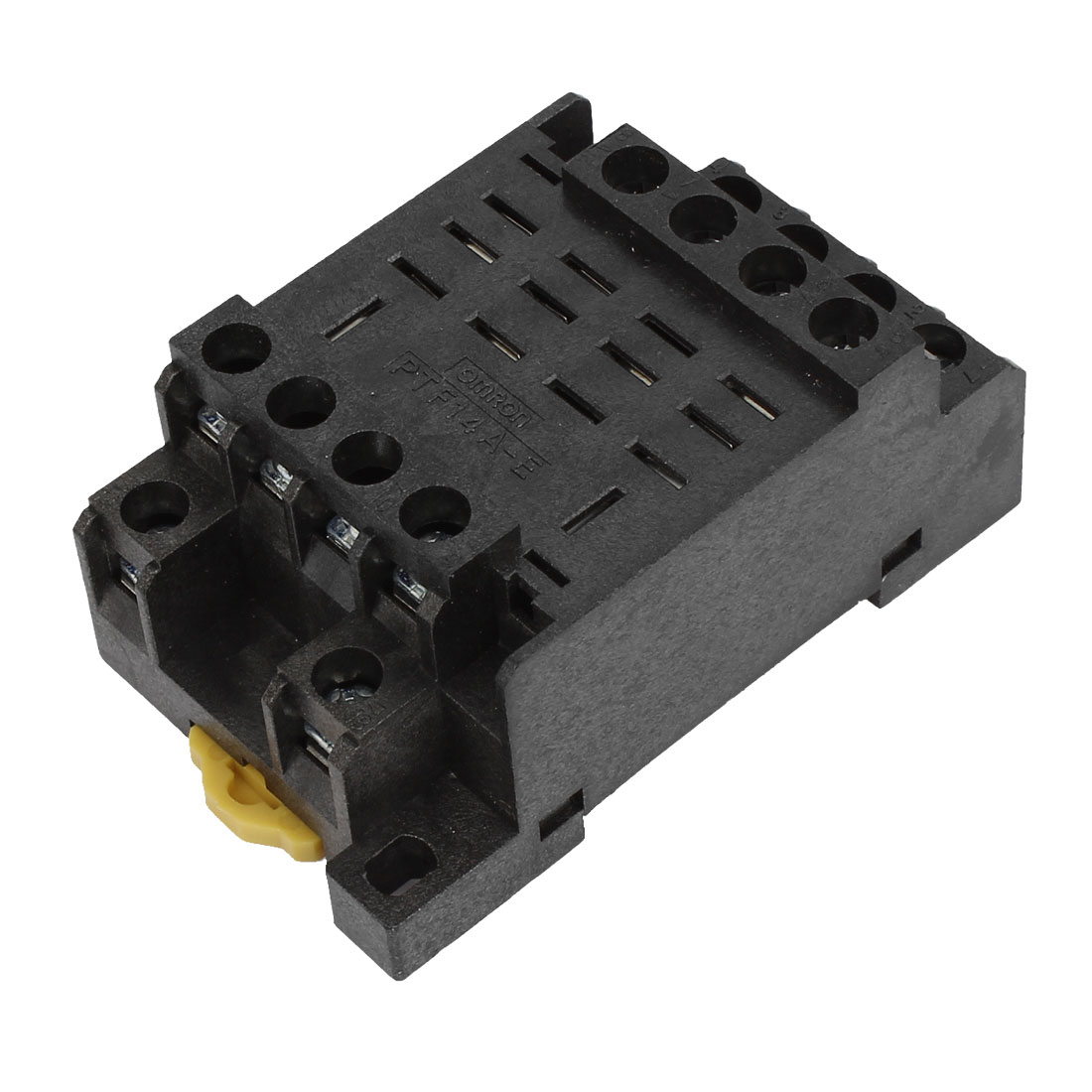 PTF14A-E 14 Screw Terminal Relay Socket Base DIN Rail for HH64P Y4NJ