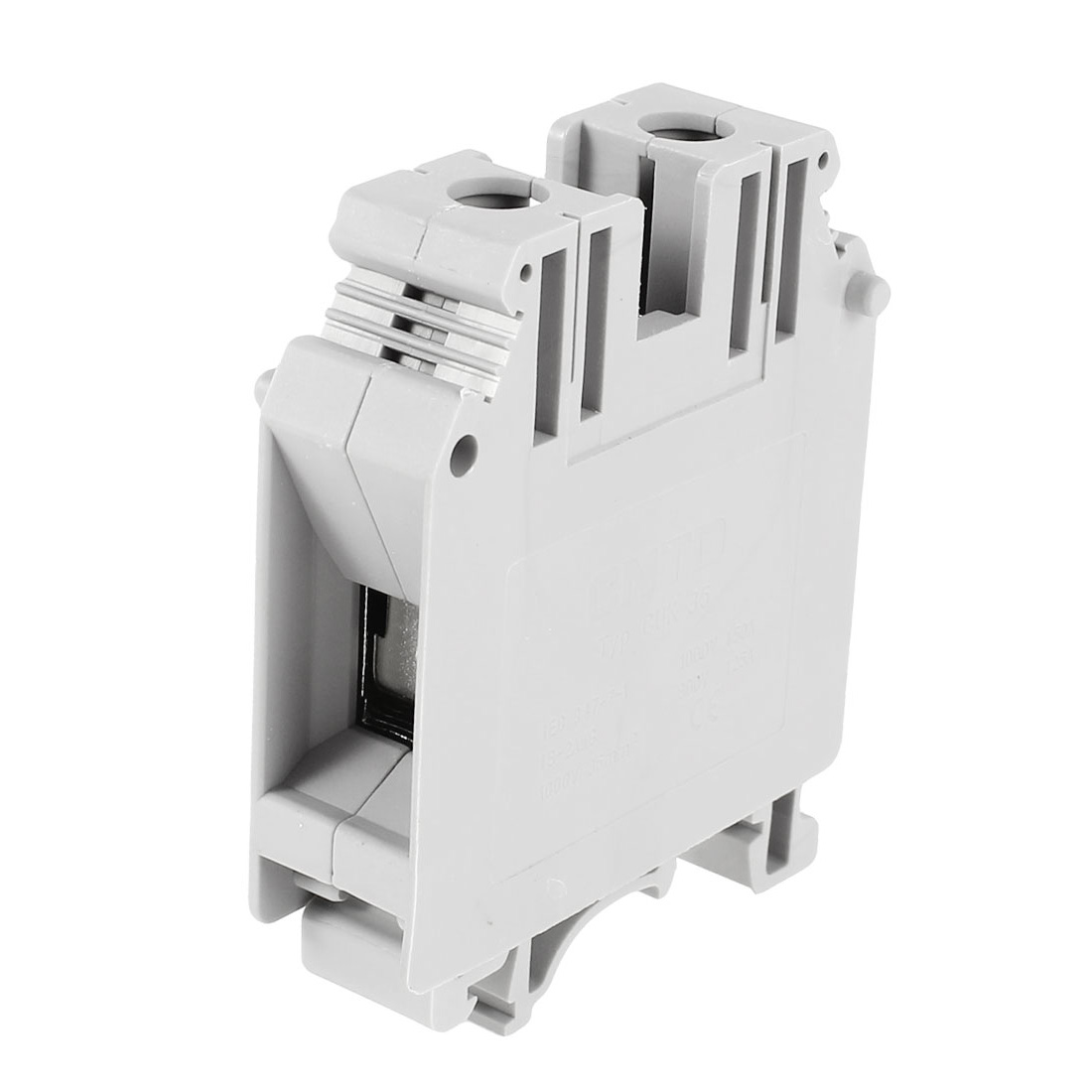 UK35N 1000V/150A 800V/125A 18-2AWG Screw Clipping Terminal Block Connector Gray