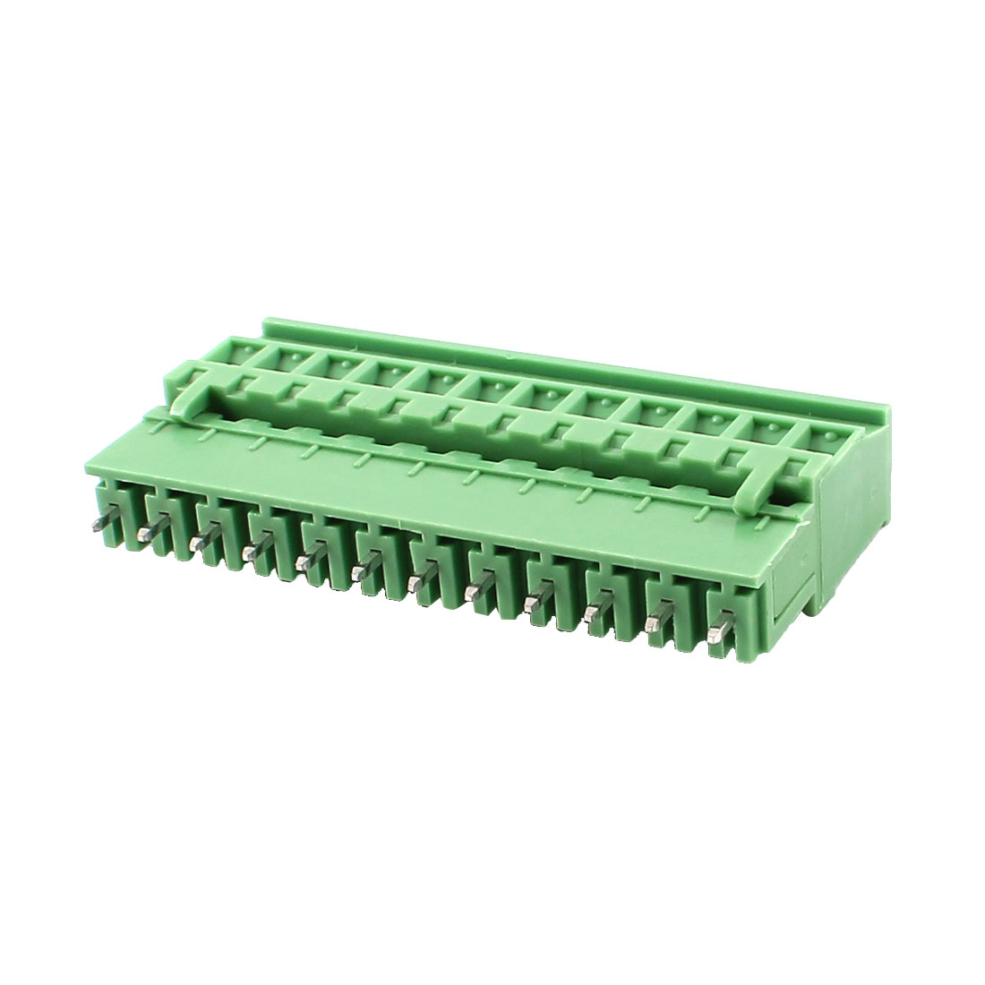 Pair Single Row 12 Positions 5.08mm Straight Pluggable Terminal Block
