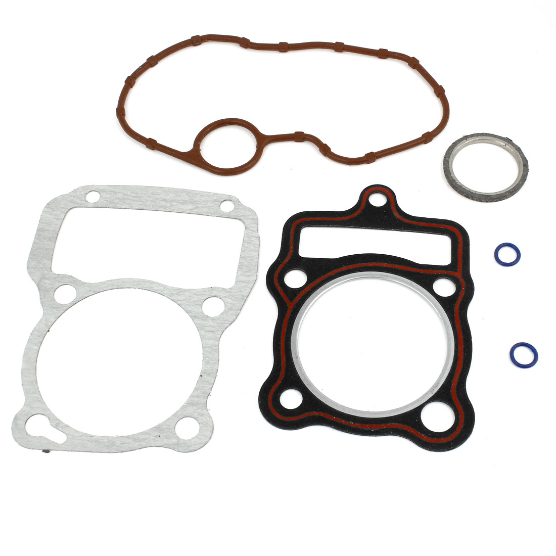 Brown Rubber Flexible Cylinder Head Gasket Kit for Motorcycle