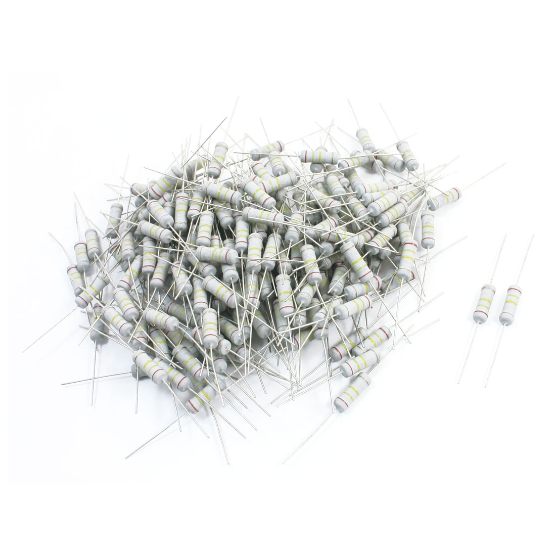 240K Ohm 3W 5% Tolerance Through Hole Metal Oxide Film Resistor 200Pcs