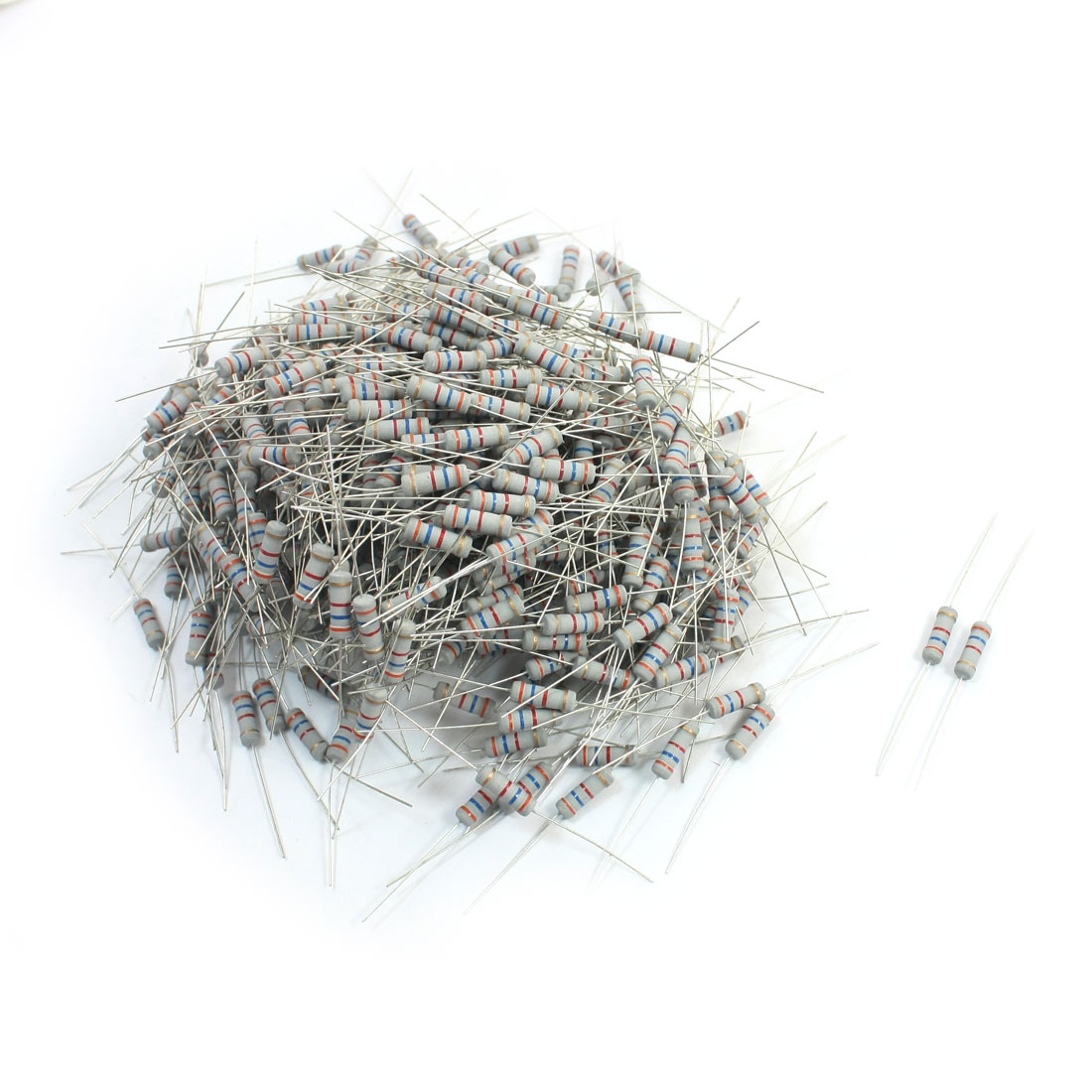 500Pcs Electronic Component 3.6K Ohm 1W 5% Metal Oxide Film Resistor