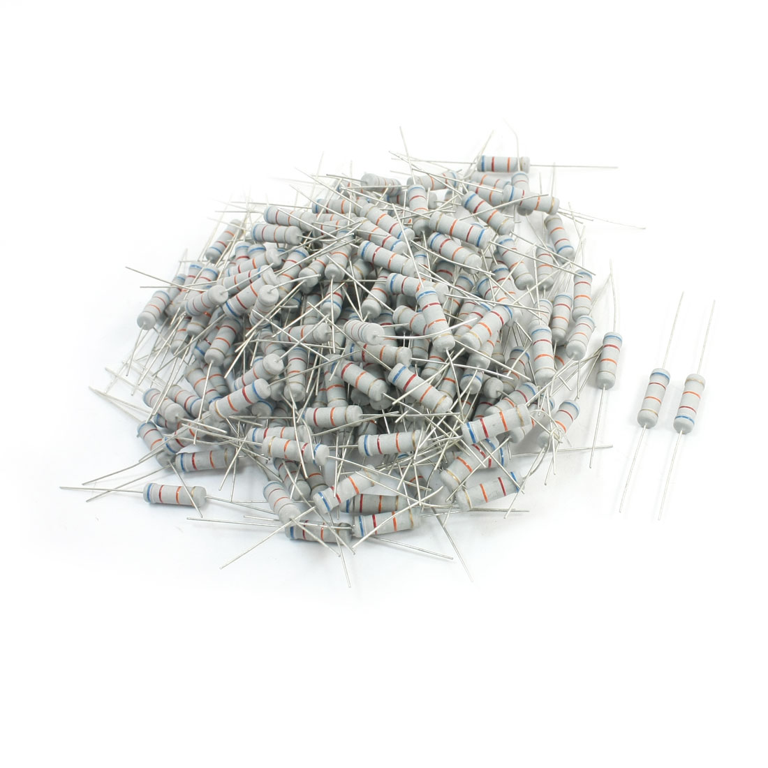 200Pcs Electronic Component 62K Ohm 2W 5% Metal Oxide Film Resistor