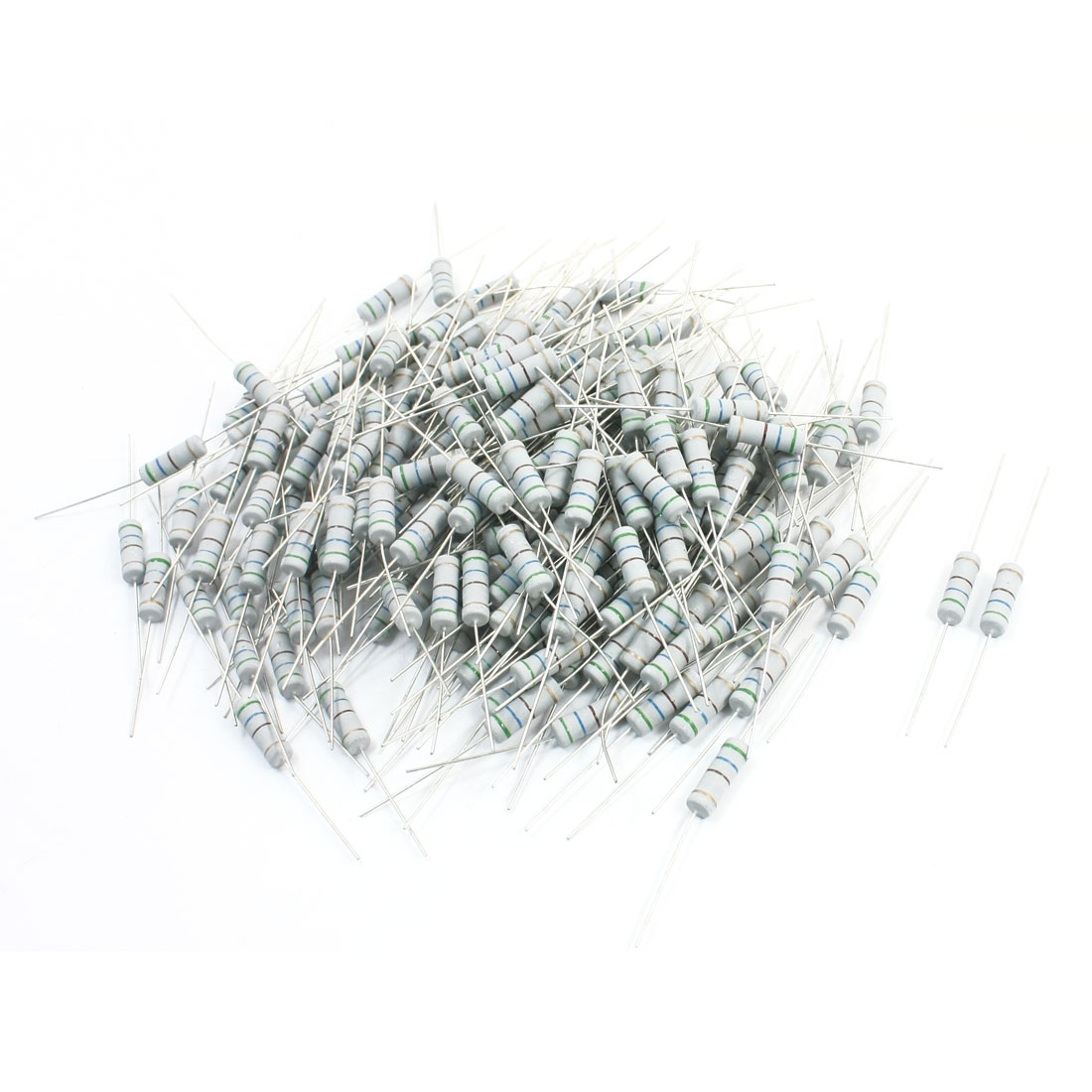 3W 560 Ohm 5% Tolerance Through Hole Metal Oxide Film Resistor 200Pcs