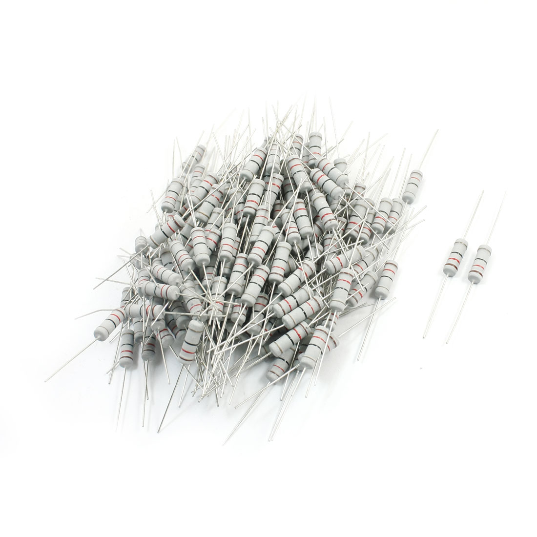 200Pcs Electronic Component 12 Ohm 3W 5% Metal Oxide Film Resistor