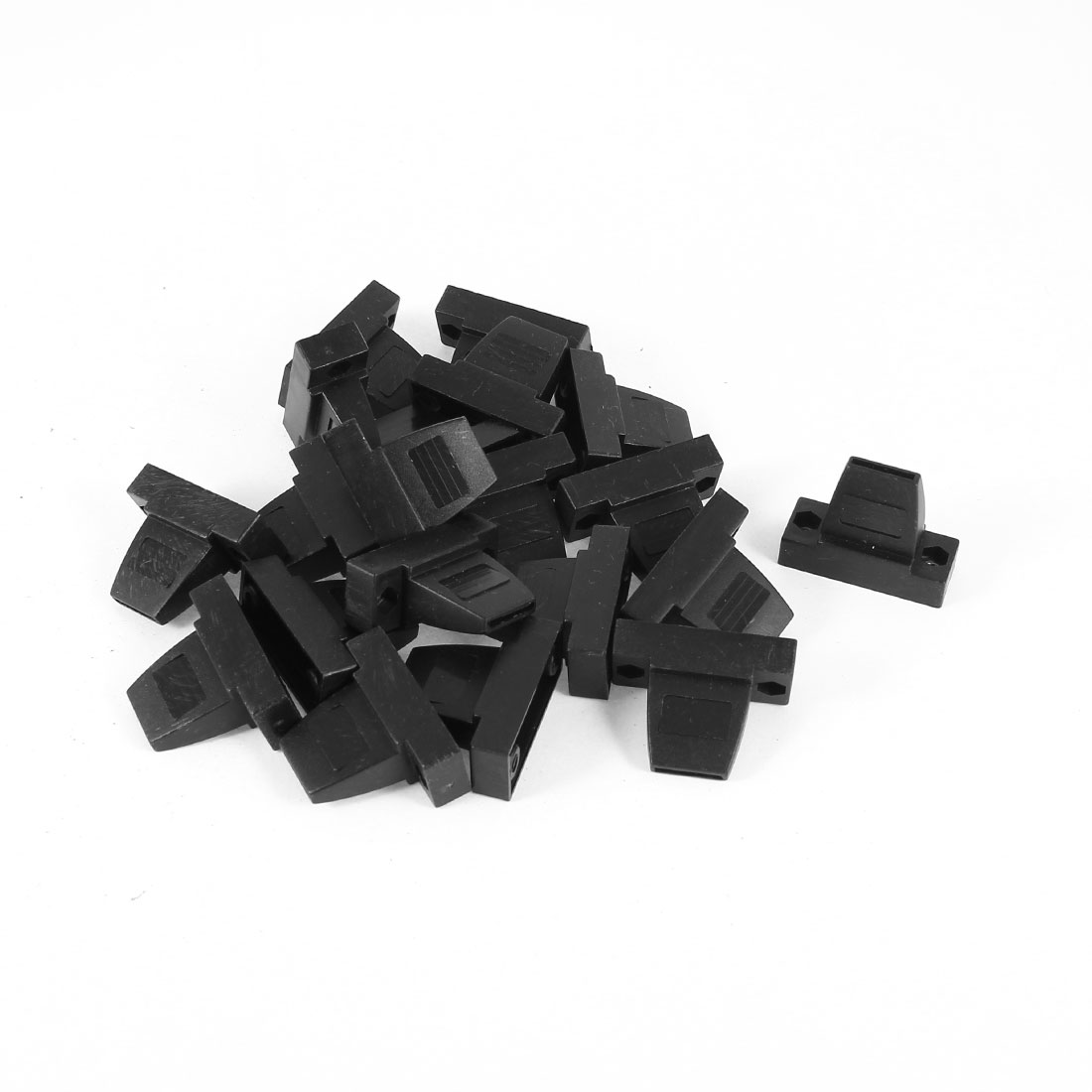 20 Pcs Plastic Cover Shell Housing Protector Black for D Sub DB9 9Pin Connector