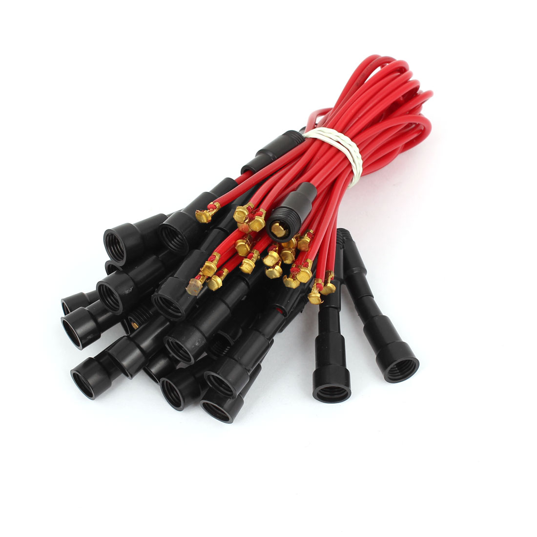 25cm Long Screw Type Car Auto In-line Fuse Holder 20pcs for 5x20mm Fuse