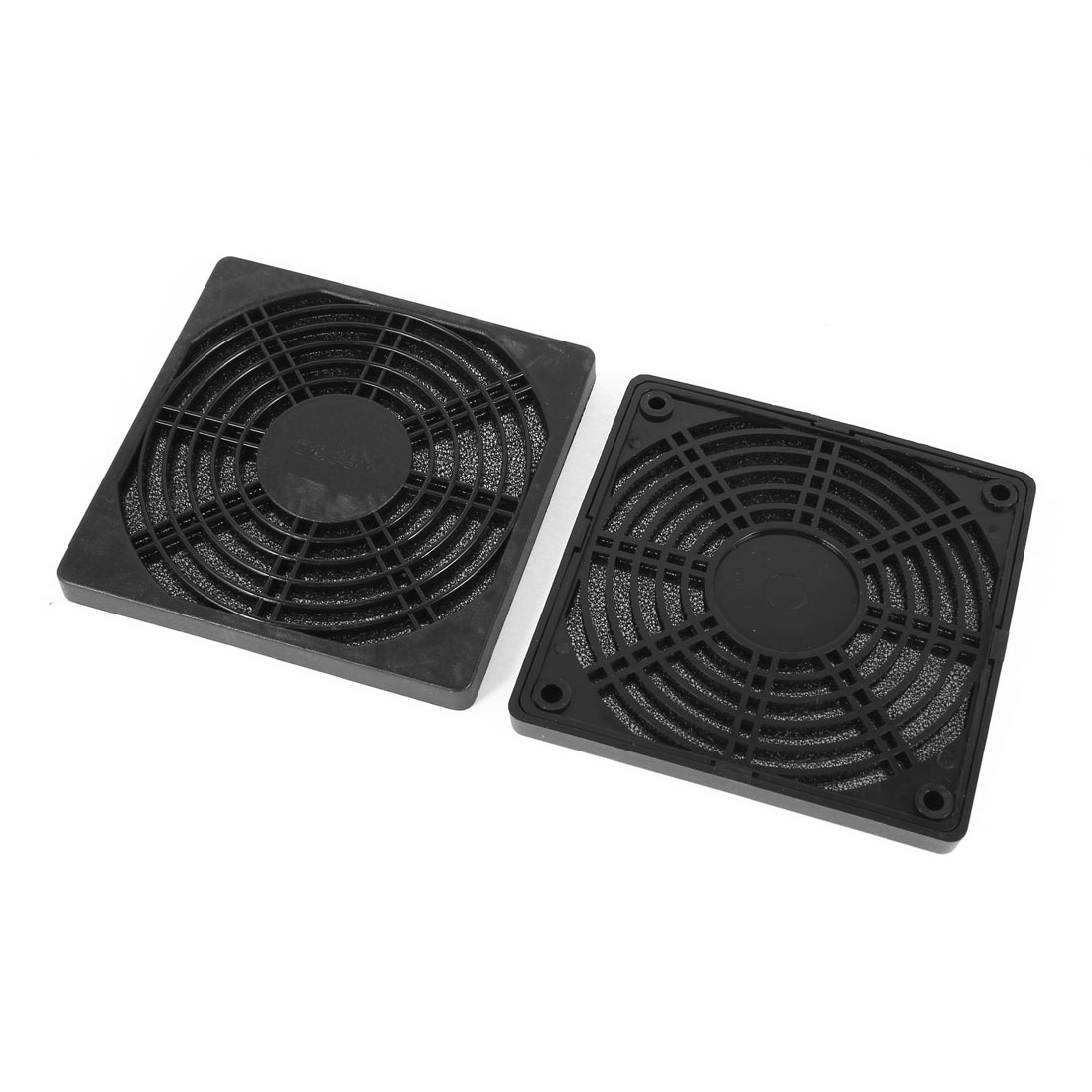 2 Pcs Dustproof Mesh Dust Filter Cover Grill for 120mm 12cm PC Computer Case Fan