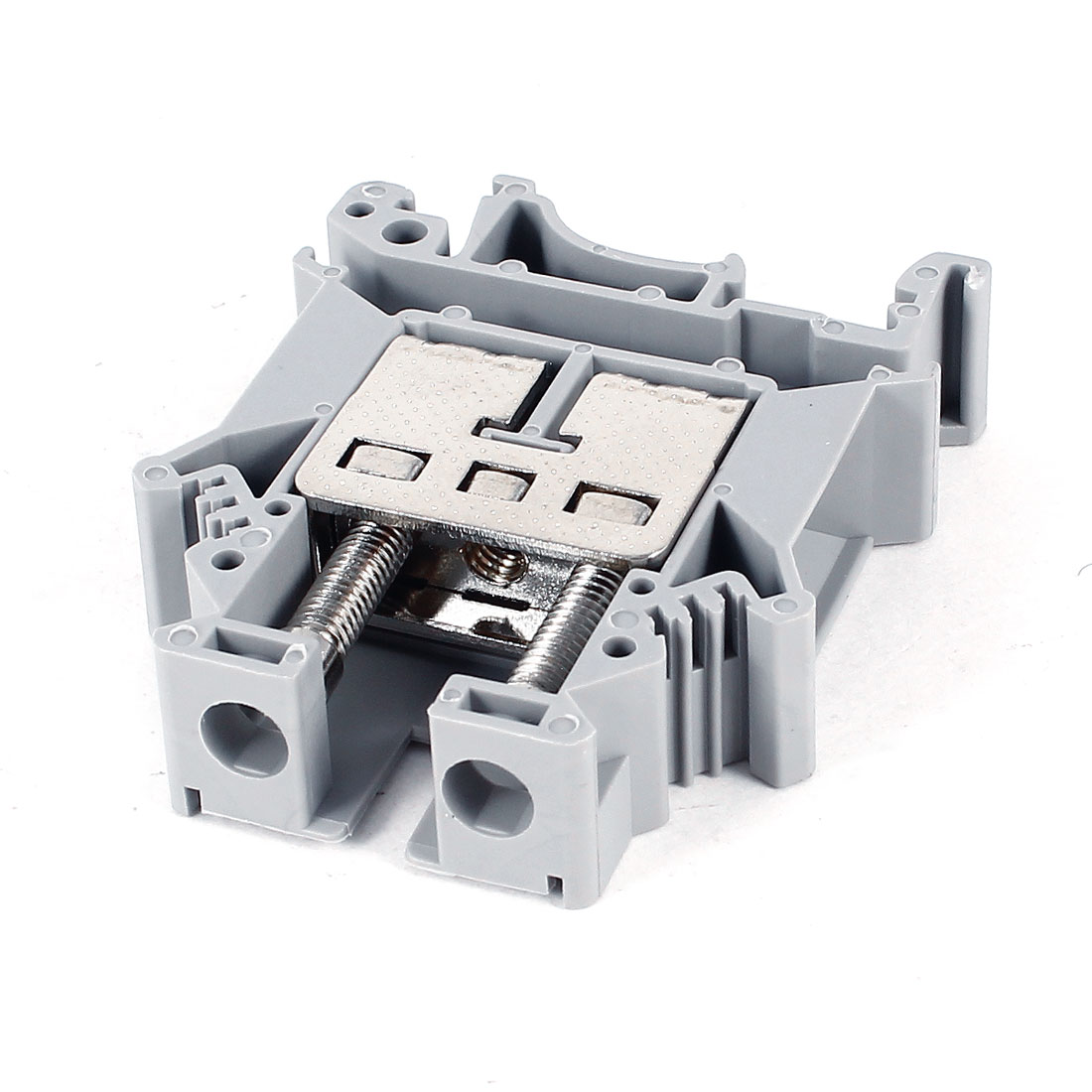 Gray 800V 101A UK16N Type Screw Contact Terminal Block Connector 22-4AWG