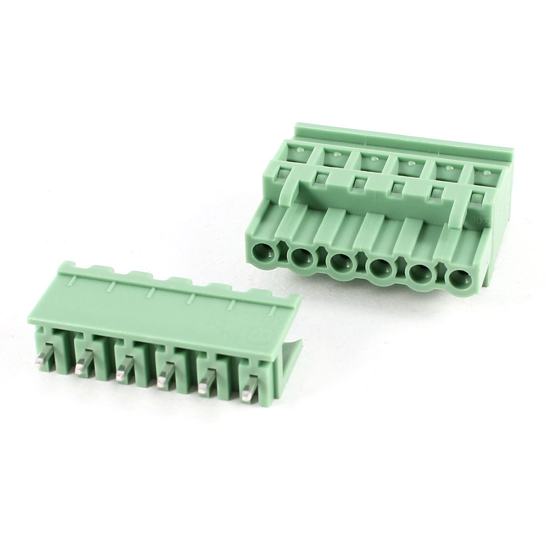 Green KF2EDGKA 5.08mm 6Position Screw Pluggable Terminal Block Connector 300V 10A