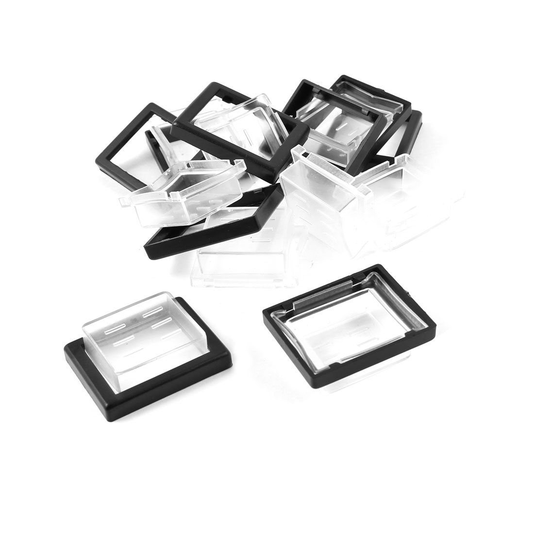 10pcs Waterproof Cover Cap Case Guard for 26mmx20mm Head Rocker Switch