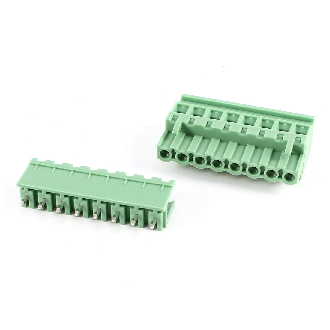 Green KF2EDGKA 5.08mm 8Position Screw Pluggable Terminal Block Connector 300V 10A