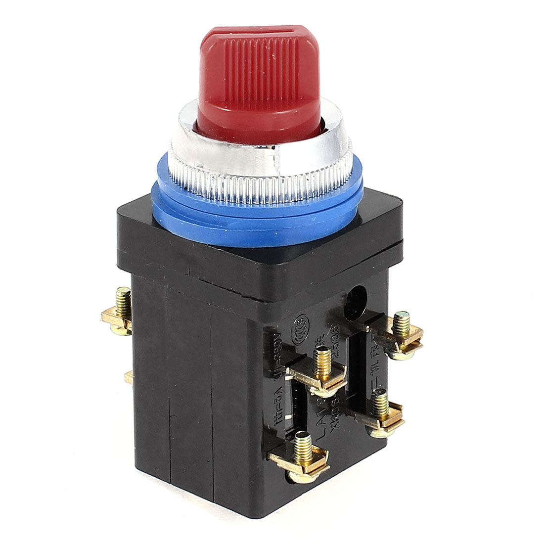 Electric LA18-22X 2 3 Position 2NO+2NC Rotary Knob Selector Switch AC 380V 5A