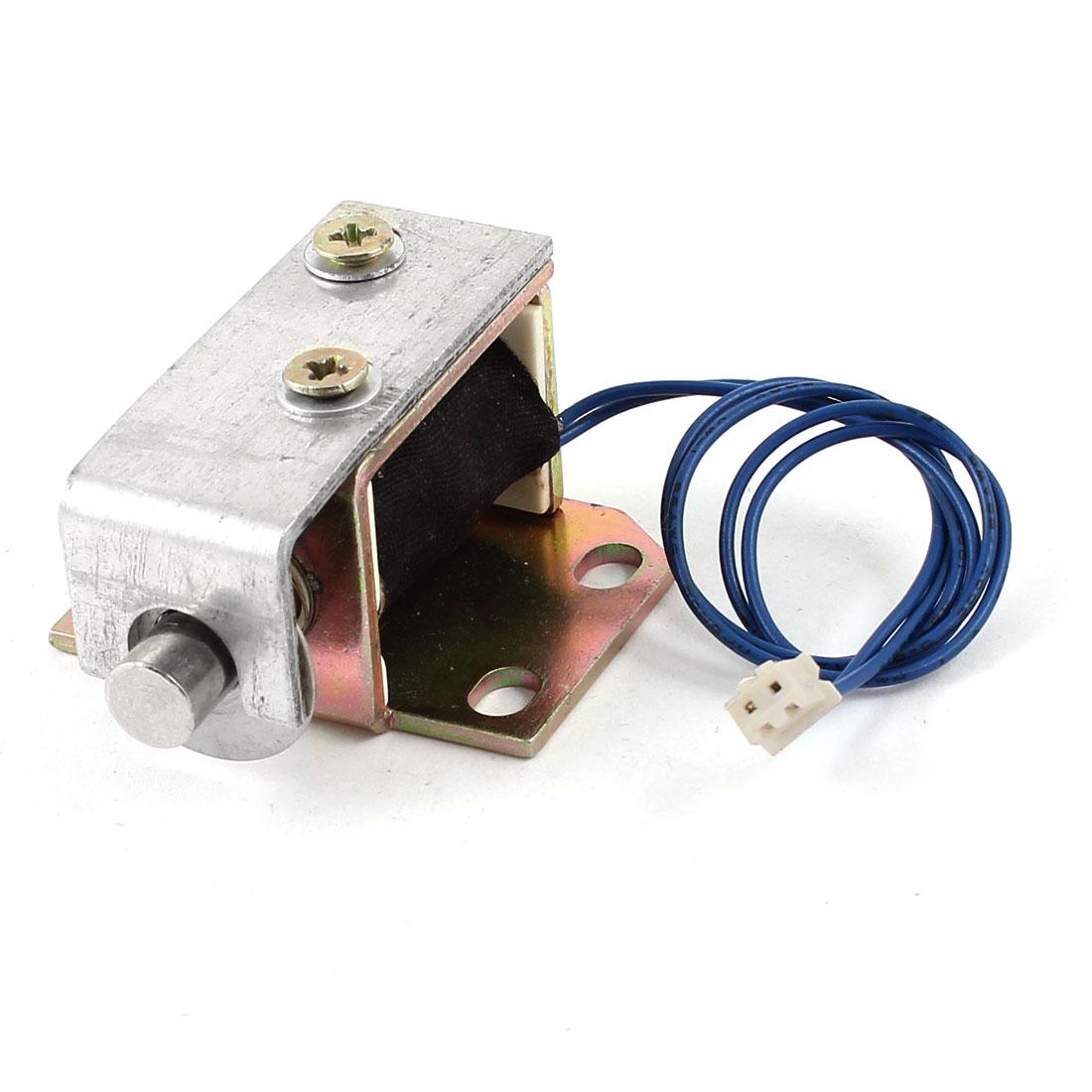 DC 24V 1.2A 28.8W 2mm 850g 5mm 500g Pull Type Open Frame Linear Motion Solenoid Electromagnet Actuatora